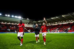 Josh Brownhill of Bristol City celebrates after Bristol City win 5-2 - Rogan/JMP - 30/11/2019 - Ashton Gate Stadium - Bristol, England - Bristol City v Huddersfield Town - Sky Bet Championship.