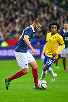 Karim BENZEMA - 26.03.2015 - France / Bresil - Match Amical<br />