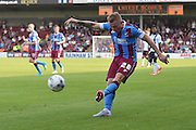 Gary McSheffrey  during the Sky Bet League 1 match between Scunthorpe United and Millwall at Glanford Park, Scunthorpe, England on 22 August 2015. Photo by Ian Lyall.