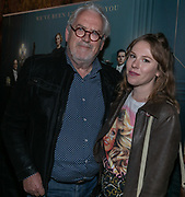 2019, September 10. Pathe Tuschinski, Amsterdam, the Netherlands. Ernst Daniel Smid and Coosje Smid at the dutch premiere of Downtown Abbey.