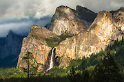 Bridalveil Fall, Yosemite National Park, California USA