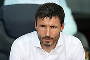 Head coach Mark Van Bommel of PSV Eindhoven is pictured during the line up ahead of the UEFA Champions League, Group B football match between FC Barcelona and PSV Eindhoven on September 18, 2018 at Camp Nou stadium in Barcelona, Spain - Photo Manuel Blondeau / AOP Press / ProSportsImages / DPPI