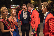 CHARLOTTE CRAVEN; RACHEL PHILLIPS; ARCHIBALD FORREST; JAMES FLEMING; HAMISH MARTIN, The Royal Caledonian Ball 2015. Grosvenor House. Park Lane, London. 1 May 2015.