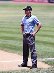 June 2 2014 California League Umpire Gibbs, Reid Victorville CA Mavericks vs Blaze