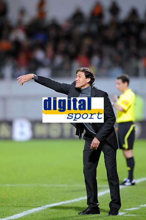 FOOTBALL - FRENCH CHAMPIONSHIP 2009/2010 - L1 - FC LORIENT v LILLE OSC - 15/05/2010 - PHOTO PASCAL ALLEE / DPPI - RUDI GARCIA THE LILLE COACH