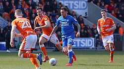 Lee Tomlin of Peterborough United in action against Blackpool - Mandatory by-line: Joe Dent/JMP - 13/04/2019 - FOOTBALL - Bloomfield Road - Blackpool, England - Blackpool v Peterborough United - Sky Bet League One