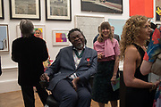 YINKA SHONIBARE; RACHEL SORRILL, Royal Academy Summer Exhibition party. Burlington House. Piccadilly. London. 6 June 2018