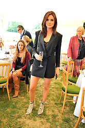 The HON.ANTALYA NALL-CAIN at a charity polo match organised by Jaeger Le Coultre was held at Ham Polo Club, Richmond, Surrey on 12th June 2009.