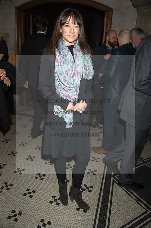 LEAH WOOD at the Veuve Clicquot Widow Series launch party hosted by Nick Knight and Jo Thornton MD Moet Hennessy UK held at The College, Central St.Martins, 12-42 Southampton Row, London on 29th October 2015.