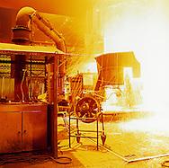 teel factory Cockerill-Sambre / ArcelorMittal, Charleroi, Belgium. //<br /> Acierie Cockerill-Sambre / ArcelorMittal, Charleroi, Belgique.
