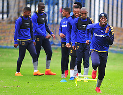 Cape Town--180329 Cape Town City defender Mpho Matsi  at training preparing for heir Nedbank Cup game against Sundowns on sunday  .Photographer;Phando Jikelo/African News Agency/ANA