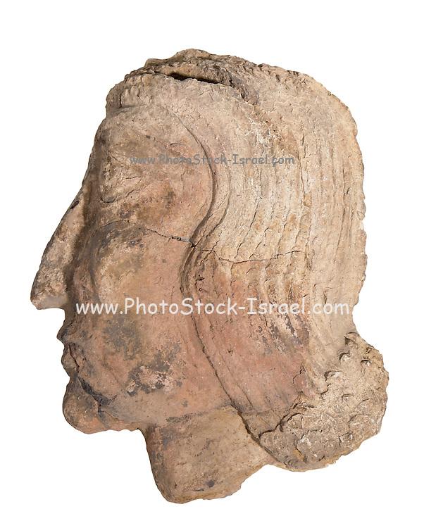 Mesopotamian Terracotta face early secon millennium BCE