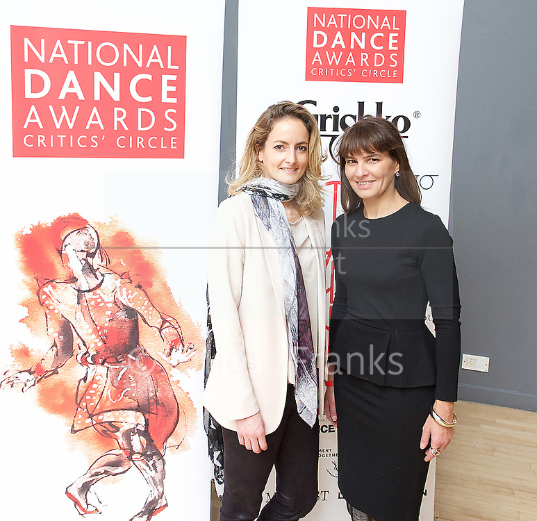 The Critics' Circle National Dance Awards 2016 <br /> at the Lilian Baylis Studio, Sadler's Wells, London, Great Britain <br /> <br /> 6th February 2017 <br /> <br /> <br /> <br /> Photograph by Elliott Franks <br /> Image licensed to Elliott Franks Photography Services
