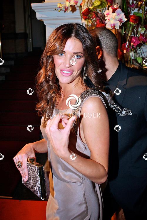 AMSTERDAM - In het Amstel Hotel zijn de Beau Monde Awards 2011 weer uitgereikt.  Met op de foto topmodel Sylvia Geersen. FOTO LEVIN DEN BOER - PERSFOTO.NU