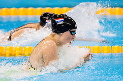 Lisa Kruger of Netherlands competes in the Women's 100m Breaststroke SB9 Final on day 1 during the Rio 2016 Summer Paralympics Games on September 8, 2016 in Olympic Aquatics Stadium, Rio de Janeiro, Brazil. Photo by Vid Ponikvar / Sportida