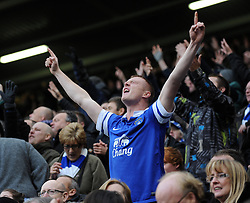 A proud Everton Fan - Photo mandatory by-line: Dougie Allward/JMP - Tel: Mobile: 07966 386802 23/11/2013 - SPORT - Football - Liverpool - Merseyside derby - Goodison Park - Everton v Liverpool - Barclays Premier League