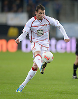 Fussball 1. Bundesliga 2012/2013: Relegation  Bundesliga / 2. Liga  TSG 1899 Hoffenheim  - 1. FC Kaiserslautern          23.05.2013 Albert Bunjaku (1. FC Kaiserslautern)  Einzelaktion am Ball