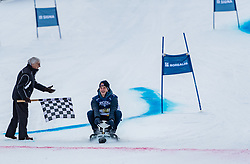 20.01.2018, Hahnenkamm, Kitzbühel, AUT, FIS Weltcup Ski Alpin, Kitzbuehel, Kitz Charity Trophy, im Bild v.l.: Bernie Ecclestone, Max Verstappen // f.l.: Bernie Ecclestone Max Verstappen during the Kitz Charity Trophy of the FIS Ski Alpine World Cup at the Hahnenkamm in Kitzbühel, Austria on 2018/01/20. EXPA Pictures © 2018, PhotoCredit: EXPA/ Stefan Adelsberger