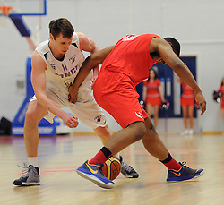 Bristol Flyers' Jordan Ranklin  - Photo mandatory by-line: Robbie Stephenson/JMP - Mobile: 07966 386802 - 18/04/2015 - SPORT - Basketball - Bristol - SGS Wise Campus - Bristol Flyers v Leeds Force - British Basketball League