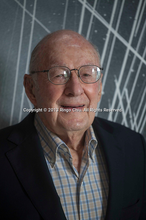 Frederick Nicholas, president of Hapsmith Co. At age 93, Fred Nicholas still comes to work every day, doing real estate deals as president of the Hapsmith Co.<br /> (Photo by Ringo Chiu/PHOTOFORMULA.com)