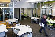 The new Learning Center at Thomas Russell Middle School in Milpitas, California, on February 2, 2015. (Stan Olszewski/SOSKIphoto)