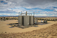 Fracking industry site on BLM land in northern New Mexico