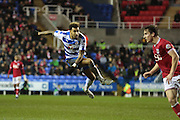 Reading midfielder Daniel Williams during the Sky Bet Championship match between Reading and Bristol City at the Madejski Stadium, Reading, England on 2 January 2016. Photo by Jemma Phillips.