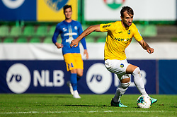 Mustafa Nukić of Bravo during football match between NK Bravo and NK Celje in 13th Round of Prva liga Telekom Slovenije 2019/20, on October 5, 2019 in ZAK stadium, Ljubljana, Slovenia. Photo by Vid Ponikvar / Sportida