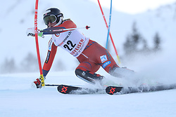 28.01.2018, Lenzerheide, SUI, FIS Weltcup Ski Alpin, Lenzerheide, Slalom, Damen, 1. Lauf, im Bild Maren Skjoeld (NOR) // Maren Skjoeld of Norway in action during her 1st run of ladie's Slalom of FIS ski alpine world cup in Lenzerheide, Austria on 2018/01/28. EXPA Pictures © 2018, PhotoCredit: EXPA/ Sammy Minkoff<br /> <br /> *****ATTENTION - OUT of GER*****
