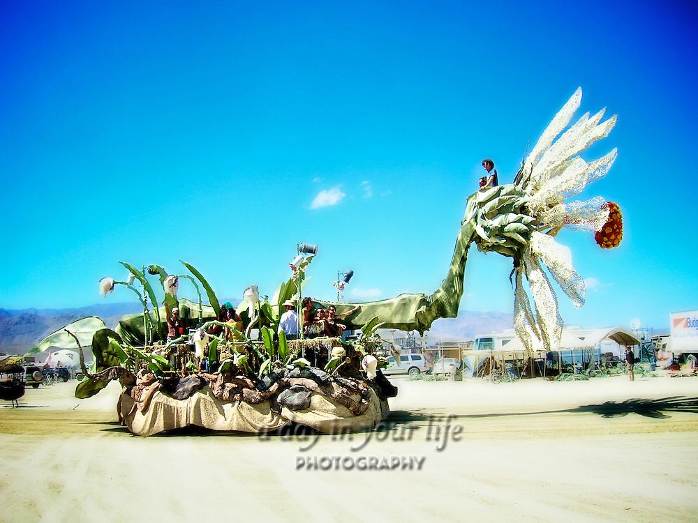 Art car from Burning Man Festival.