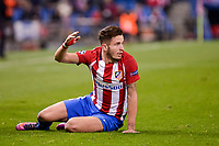 Atletico de Madrid's player Saúl Ñígez during a match of UEFA Champions League at Vicente Calderon Stadium in Madrid. November 01, Spain. 2016. (ALTERPHOTOS/BorjaB.Hojas)