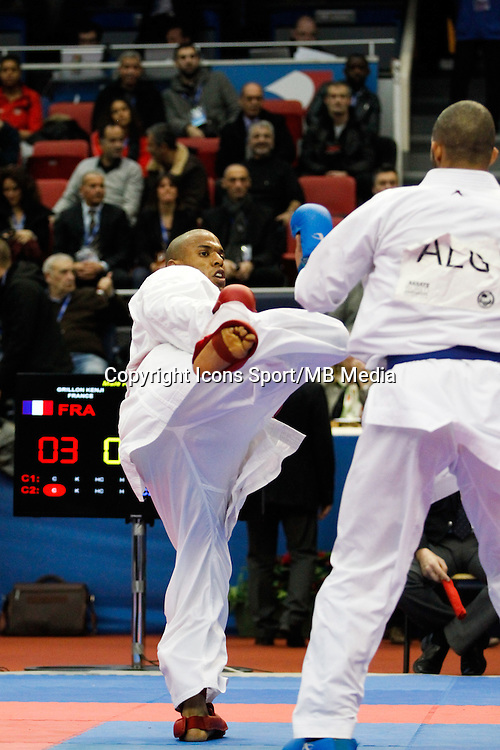 Kenji GRILLON - 24.01.2015 - Open de Paris - Karate Premier League -<br />Photo : Johnny Fidelin / Icon Sport