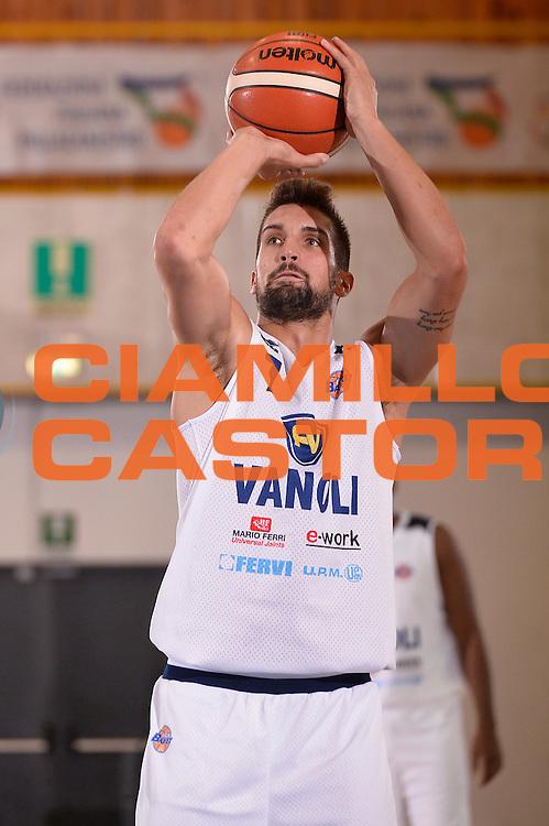 Fabio Mian<br /> Vanoli Cremona - Galatasaray<br /> Lega Basket Serie A 2016/2017<br /> Bormio 03/09/2016<br /> Foto Ciamillo-Castoria