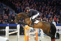Schroder Ben (NED) - Unaniem<br /> KWPN Stallion Selection - 's Hertogenbosch 2014<br /> © Dirk Caremans