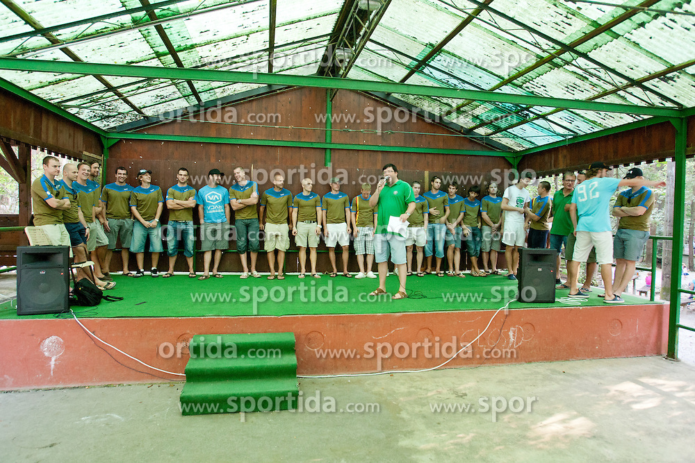 HDD Tilia Olimpija picnic and meeting with their fans, on September 2, 2011, in Mostec, Ljubljana, Slovenia (Photo by Matic Klansek Velej / Sportida)