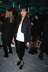 CAROLINE SIEBER at a party to present the Fall/Winter Collection 2007/2008 of Moncler the French mountaineering brand held at 10 Mercer Street, London WC2 on 13th February 2007.<br />