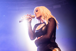May 9, 2017 - Milano, Italy, Italy - American singer-songwriter and record producer Bebe Rexha performs live at Fabrique in Milano. (Credit Image: © Mairo Cinquetti/Pacific Press via ZUMA Wire)