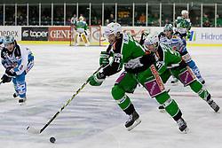 Petr Sachl (HDD Tilia Olimpija, #12) during ice-hockey match between HDD Tilia Olimpija and EHC Liwest Black Wings Linz in 51st Round of EBEL league, on Februar 5, 2012 at Hala Tivoli, Ljubljana, Slovenia. (Photo By Matic Klansek Velej / Sportida)
