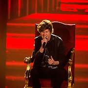NLD/Hilversum/20141219- Finale The Voice of Holland 2014, Guus Mulder