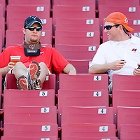 04 November 2007: Fans of Tampa Bay Buccaneers are seen in the stands after the Tampa Bay Buccaneers 17-10 victory over the Arizona Cardinals at the Raymond James Stadium in Tampa, Florida, USA.