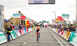 Winner: Sanne Cant (BEL), Women Elite, Cyclo-cross Superprestige #8 Middelkerke, Belgium, 14 February 2015, Photo by Paul Burgoine / PelotonPhotos.com