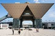 The Tokyo International Exhibition Center, commonly known as Tokyo Big Sight in Odaiba, Tokyo, Japan Friday September 9th 2011