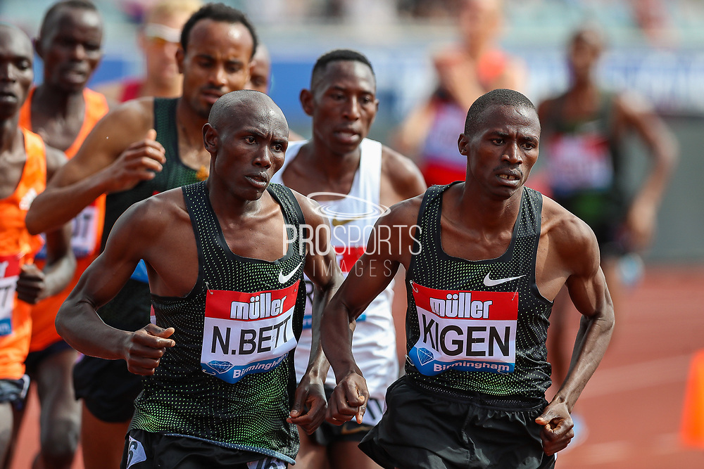 Men's 3000m Steeplechase during the Muller Grand Prix 2018 at Alexander Stadium, Birmingham, United Kingdom on 18 August 2018. Picture by Toyin Oshodi.