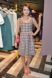 ELLA CATLIFF at the opening of Roksanda - the new Mayfair Store for designer Roksanda Ilincic at 9 Mount Street, London on 10th June 2014.