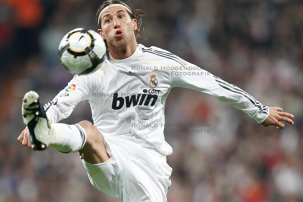 10-04-2010 VOETBAL: REAL MADRID - BARCELONA: MADRID<br /> Sergio Ramos<br /> ©2010- FRH nph / ALFAQUI