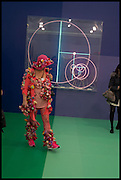 ALEXANDRA FLY, Opening of Frieze art Fair. London. 14 October 2014