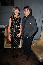 ROSE PRINCE and NIGEL SLATER at a party to celebrate the publication of Kitchenella by Rose Prince held at Blacks, 67 Dean Street, London W1 on 16th September 2010.