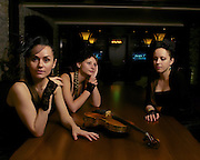 Portrait of the Allegria Strings on the Celebrity Reflection - 2012.