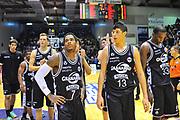 DESCRIZIONE : Campionato 2013/14 Dinamo Banco di Sardegna Sassari - Virtus Granarolo Bologna<br /> GIOCATORE : Team<br /> CATEGORIA : Ritratto Delusione<br /> SQUADRA : Virtus Granarolo Bologna<br /> EVENTO : LegaBasket Serie A Beko 2013/2014<br /> GARA : Dinamo Banco di Sardegna Sassari - Virtus Granarolo Bologna<br /> DATA : 19/01/2014<br /> SPORT : Pallacanestro <br /> AUTORE : Agenzia Ciamillo-Castoria / Luigi Canu<br /> Galleria : LegaBasket Serie A Beko 2013/2014<br /> Fotonotizia : Campionato 2013/14 Dinamo Banco di Sardegna Sassari - Virtus Granarolo Bologna<br /> Predefinita :