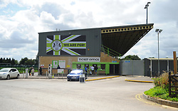 The New Lawn  - Mandatory by-line: Nizaam Jones/JMP - 19/08/2017 - FOOTBALL - New Lawn Stadium - Nailsworth, England - Forest Green Rovers v Yeovil Town - Sky Bet League Two